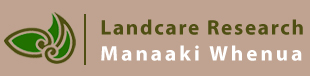 Go to Landcare Research home page